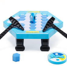 Penguin Trap Interactive Ice Breaking Table Penguin Trap Antistress Toy Activate Fun Toy For Kids Family Funny Game A95 interactive ice breaking table penguin trap children funny game penguin trap activate entertainment toy family fun game with box