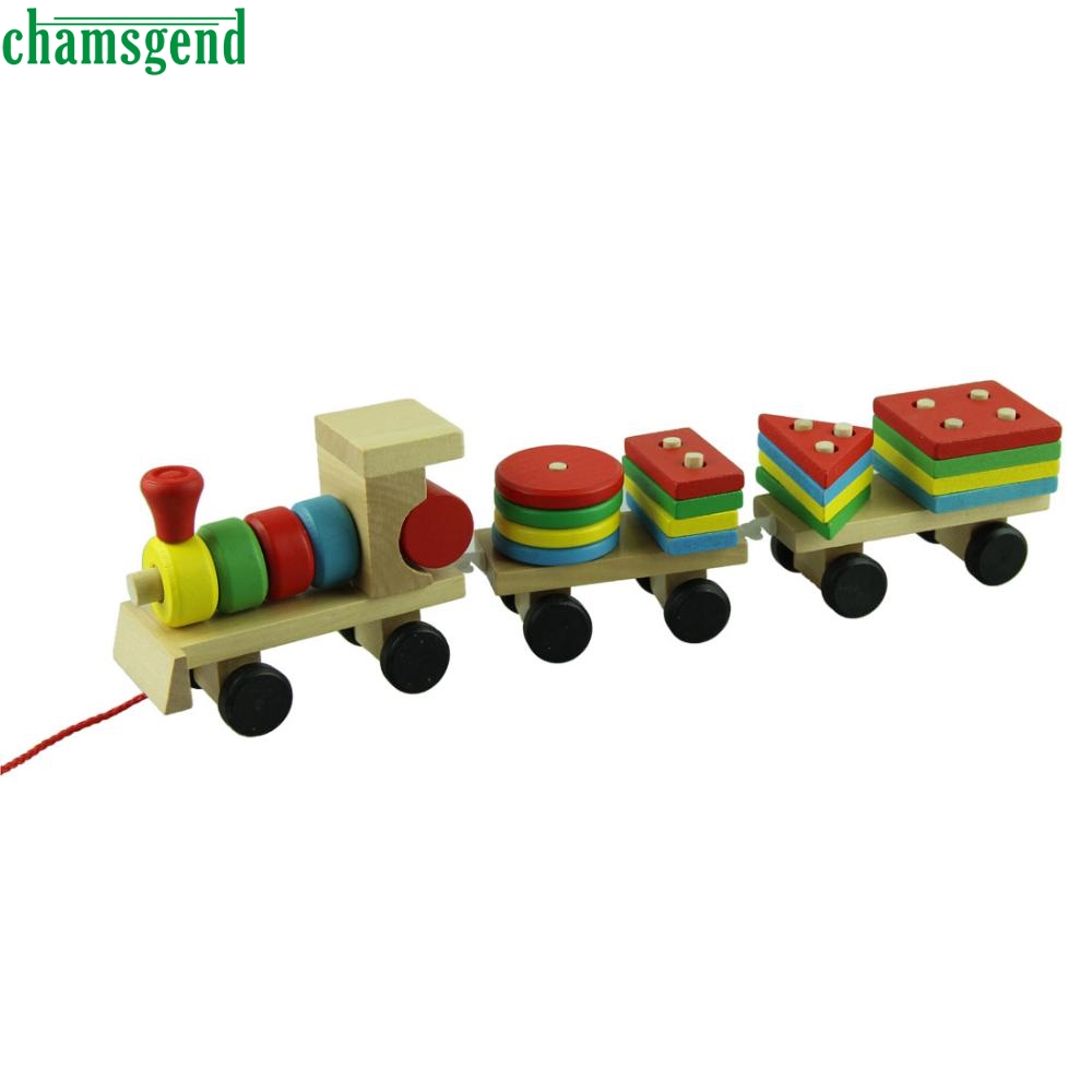 aliexpresscom  buy chamsgend modern educational wooden toys  - aliexpresscom  buy chamsgend modern educational wooden toys childrenwooden stacking train wooden blocks baby early learning toys  set fromreliable