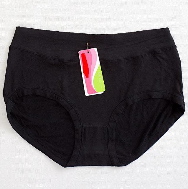 2ffc919b1c0 KJ16 Body Shaper Hip Ladies Underwear Plus Size Mid-Waist Breathable Bamboo  Fiber Women s Panties