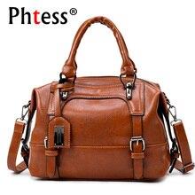 Boston Luxury Leather Handbags Women Bags Designer High Quality Famous Brands Sh