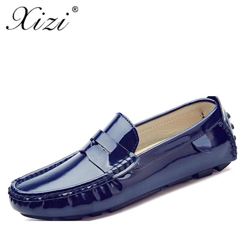 buy online 9126b 06fa8 US $22.98 40% OFF|Xizi Brand Designer Men casual Shoes Male Breathable  Microfiber Leather loafers shoes superstar Slip on Solid Men Driving  Shoes-in ...