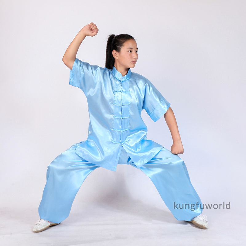 Boys and Girls Changquan Tai chi Suit Wushu Martial arts Nanquan Wing Chun UniformsBoys and Girls Changquan Tai chi Suit Wushu Martial arts Nanquan Wing Chun Uniforms