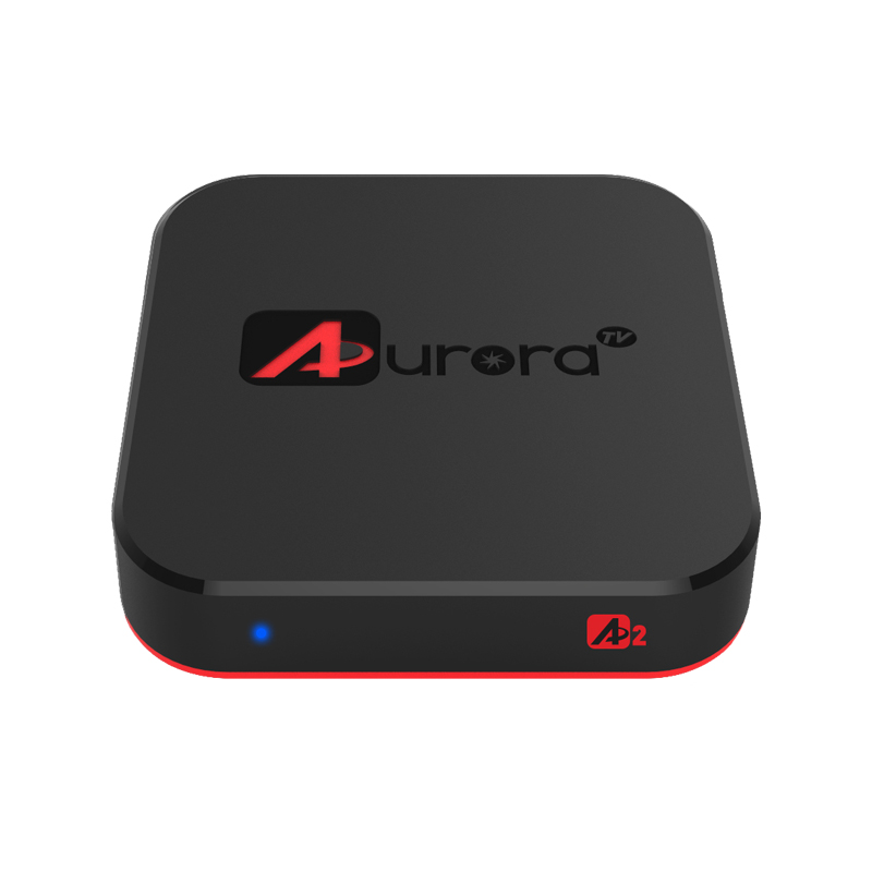 US $185 0   Aurora tv box hindi iptv box 4k UHD hindin/pakistan/ UK live  Channels VOD Movies playback function Streaming box -in Set-top Boxes from