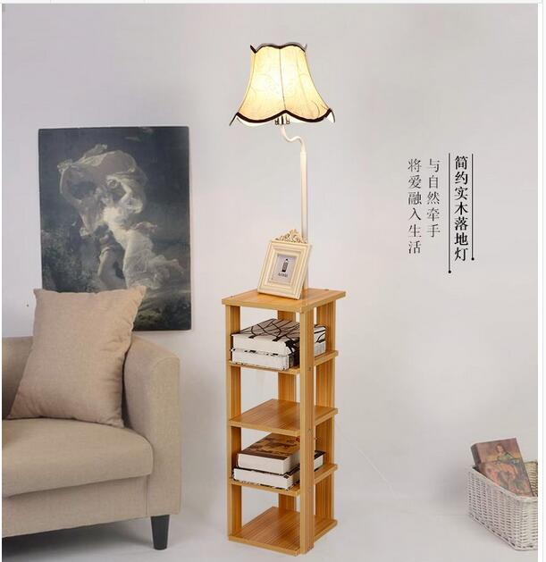 Simple Modern Bookshelf Desk Sofa Coffee Table Light Bedroom Living Room Bedside Lace LED Floor Lamp TA928322 In Lamps From Lights Lighting On