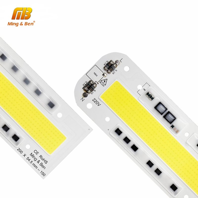 Smart IC LED COB Chip Lamp 30W 50W 70W 100W 150W 220V 110V IP65 Smart IC For DIY LED Floodlight Cold Warm White Outdoor Lighting
