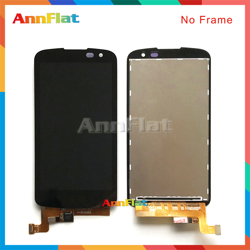 10pcs/lot High quality 4.5'' For <font><b>LG</b></font> K3 2016 K120 <font><b>K100</b></font> LS450 LCD Display Screen With Touch Screen Digitizer Assembly image