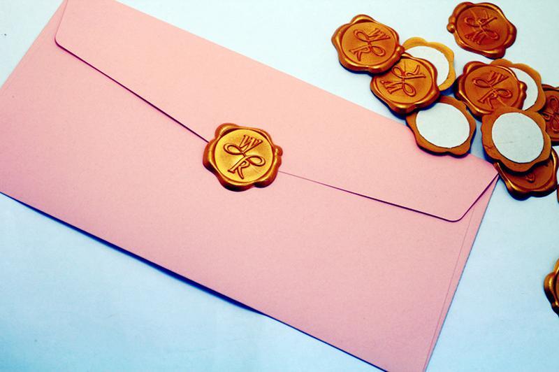 Leaf Self Adhesive Wax Seal Stickers,wedding Leaf Wax Stamp,envelope Seal, Botanical Leaf Seal 24 Color Available