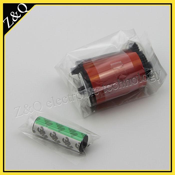 Eredeti IDP Smart 650664 SIADC-P-R piros szalag az 50d, 50s, 30s 50l - Irodai elektronika - Fénykép 4