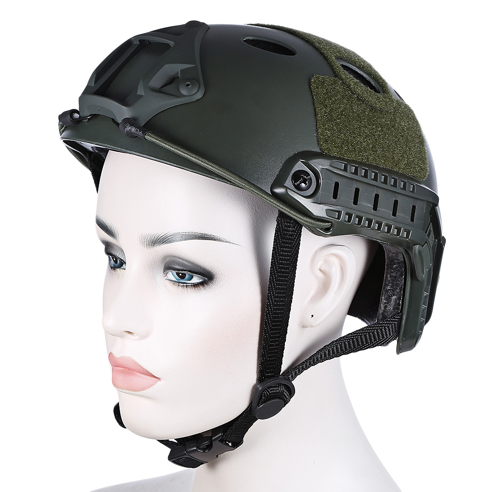 Outlife Outdoor Airsoft Lightweight Tactical Helmet Crashworthy Protective Military Tactical For CS Paintball Game Hunting все цены