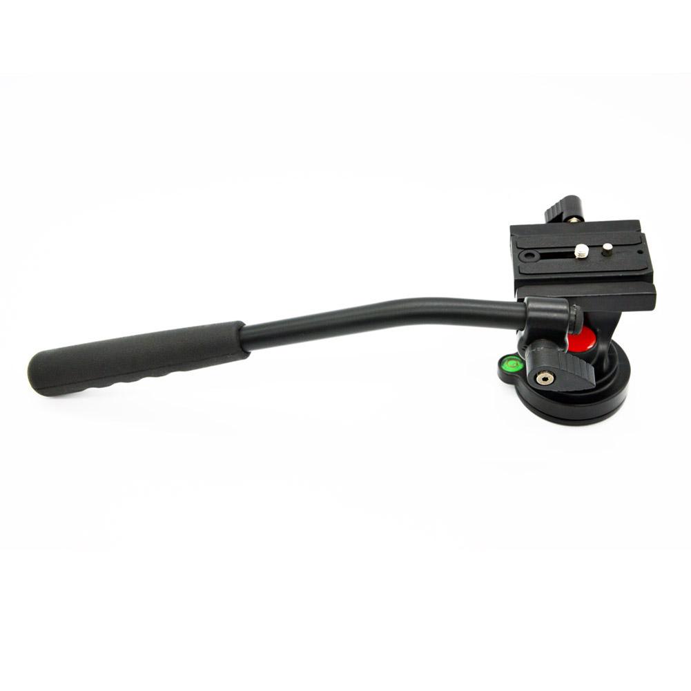 Prix pour Tête fluide Max 5 KG avec 1/4 Rlease Rapide Plaque Vidéo DSLR Caméscope Fluide Tête Trépied curseur pour Monopode DSLR caméra