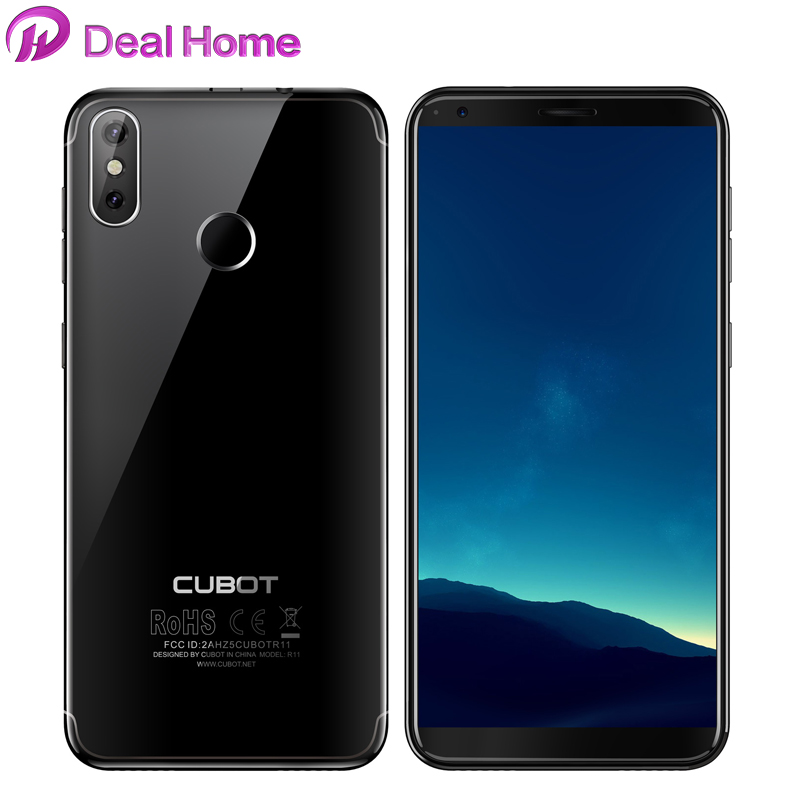 Original Cubot R11 5.5 18:9+Screen 2GB 16GB Smartphone MT6580 Quad Core Android 8.1 Fingerprint Dual Back Cameras CellphoneOriginal Cubot R11 5.5 18:9+Screen 2GB 16GB Smartphone MT6580 Quad Core Android 8.1 Fingerprint Dual Back Cameras Cellphone