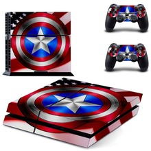 Captain America  PS4 Skin Sticker Decal