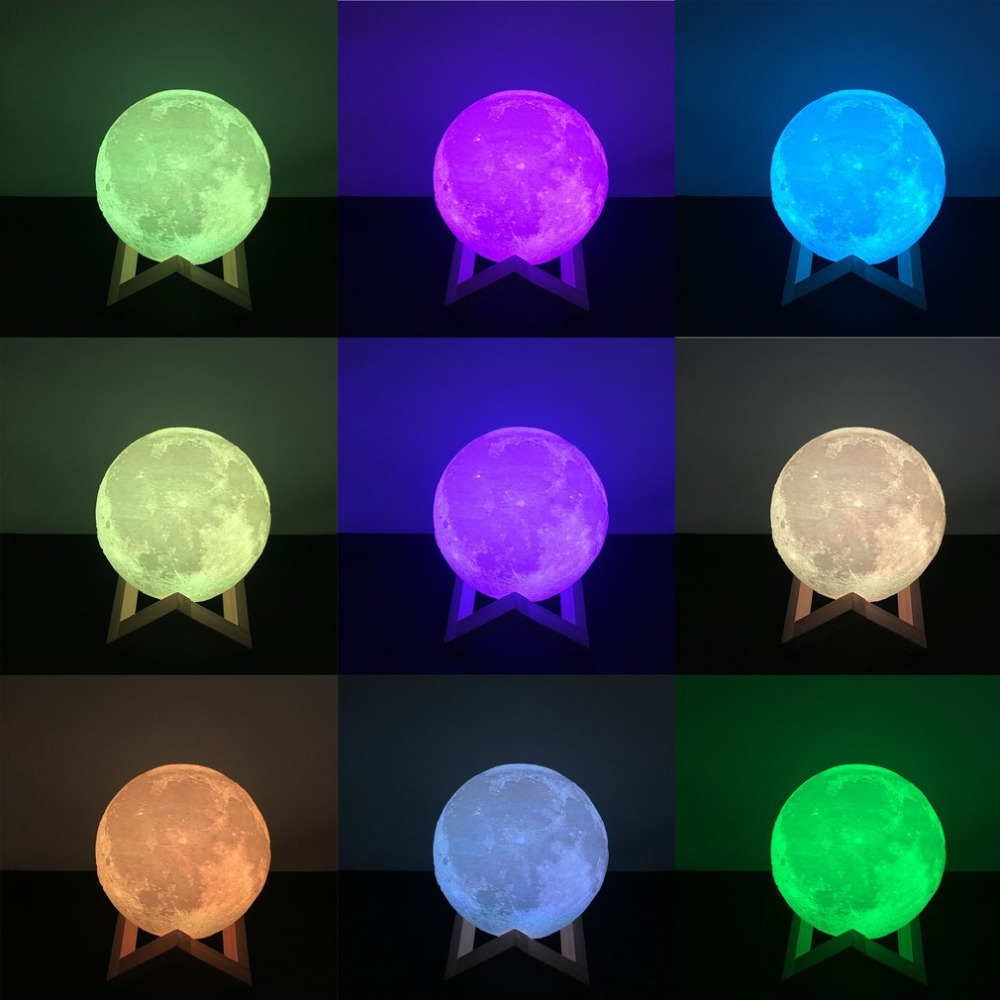 16 Color USB Desk light 10