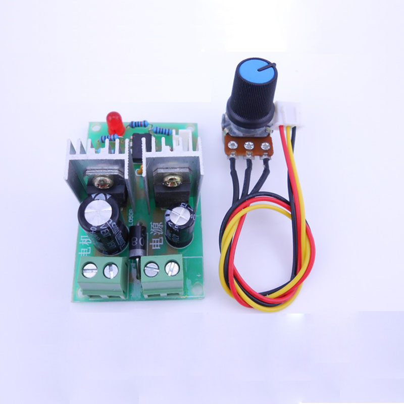 12V 24V 36V universal PWM pulse width DC motor speed controller speed switch 10A in Motor Controller from Home Improvement