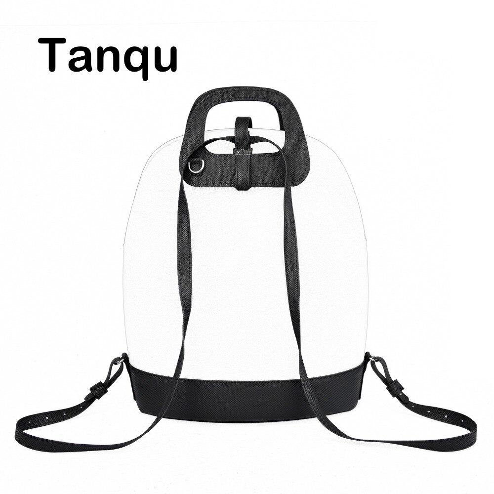 2018 New D Buckle Oblong Handle Slim PU Leather Strap for O Bag 50 Belt Bottom Backpack Kit Combination Set for Obag 50