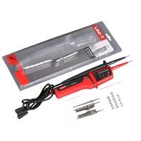 Waterproof UNI T UT15B Multi function Voltage Detectors Volt Testing Pen AC DC Voltmeter LCD Continuity Torch Detector Pen Meter
