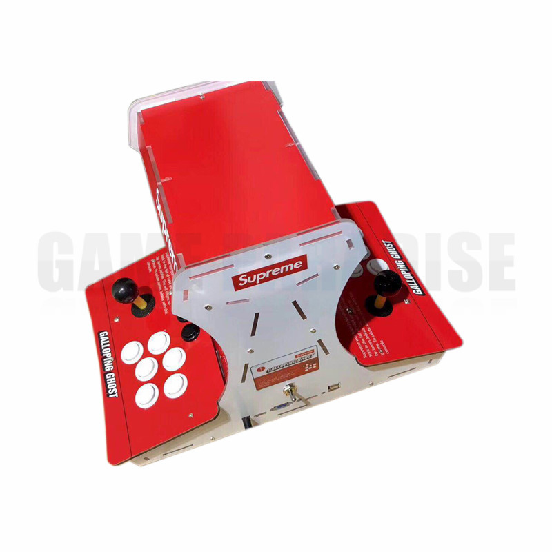 Mini  bartop supreme Galloping Ghost Arcade Game machine  with 10 inch LCD Pandora's 1388 games in 1 VGA HDMI output 1