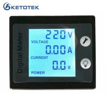 AC 80 260V 0 00 100A 0 00 10 0A AC Voltmeter Ammeter Power Energy Meter