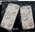 Роскошные Bling Crystal Diamond Case Полный Горный Хрусталь ПК Жесткий Задняя Крышка Для Samsung Galaxy S6 Edge S7 J1 J3 J5 J7 2016 J310 Case