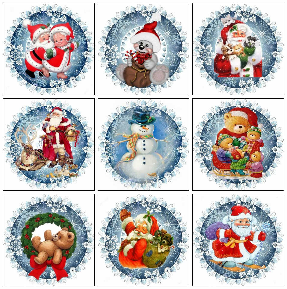 HUACAN 5D Diamond Painting Full Square New Arrival Christmas Diamond Embroidery Mosaic Santa Claus Rhinestones Pictures Art