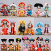 Chinese Style Dolls Model Toys China Clothing Dolls Children Christmas Gifts Model Human Toy Model Home