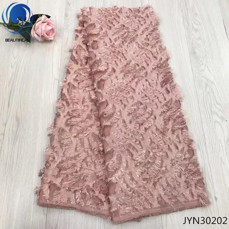BEAUTIFICAL chiffon lace fabric luxury lace fabric cheap ankara lace fabric french for wedding 5yards free