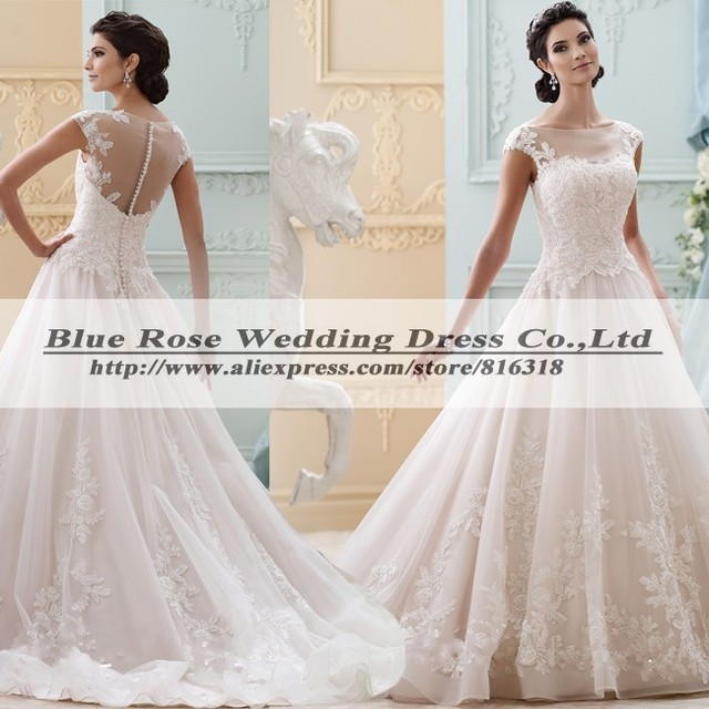 Vestido De Noiva Plus Size Sexy Vintage Lace Hippie Wedding Dress