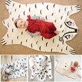 113*68 cm Nova chegada do bebê Moda Esteira Do Jogo Cobertor, animais bonitos do bebê do algodão cobertor adequado para Decoração do Quarto dos miúdos Presente de Natal