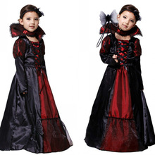 Halloween-Costume Fantasia Costume-Girl Fancy Dress Cosplay Carnival Party Witch Vampire