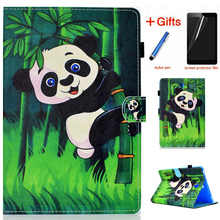 Case For Samsung Galaxy Tab S4 10.5 T830 T835 SM-T830 SM-T835 10.5 Cover Funda Tablet Fashion Colorful Coque Shell +Film+Stylus shockproof sleeve pouch bag for samsung tab s4 10 5 t830 t835 case cover for tab s4 galaxy sm t830 sm t835 10 5 inch funda cover