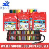 Faber Castell 48 kleuren Water Kleurpotlood Set lapis de cor profissional Merk Veiligheid Niet-giftig Prismacolor Kleur Potloden