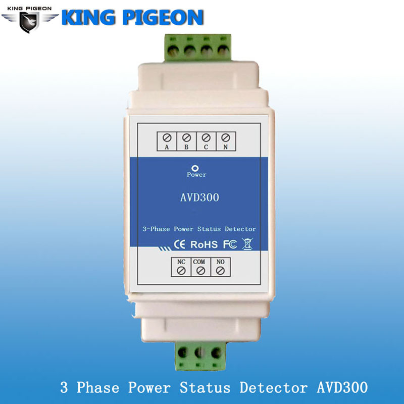 AC Power Failure Detector for monitoring AC380V voltage, three-phase four-wire system AVD300 цена