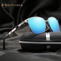 KITHDIA Brand Polarized Men Sunglasses Mirror Oversized Women Square Driver Sun Glasses HD Lens Womens Designer