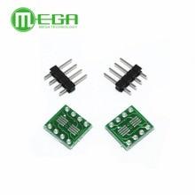 20 adet SOP8 dönüş DIP8 / SOIC8 to DIP8 IC adaptör soketi PB ücretsiz Pin başlığı ile