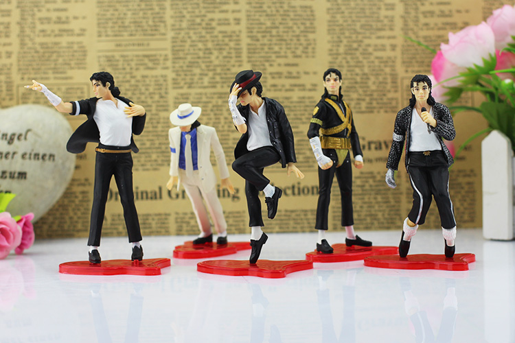 Michael Jackson Action Figure Toys Classic Pose PVC Model Collective Toys New