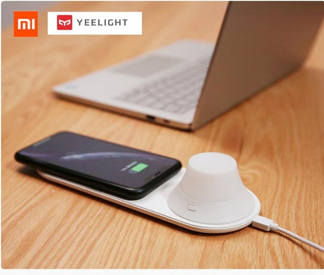 Xiaomi Yeelight Wireless Charger with LED Lamp 3