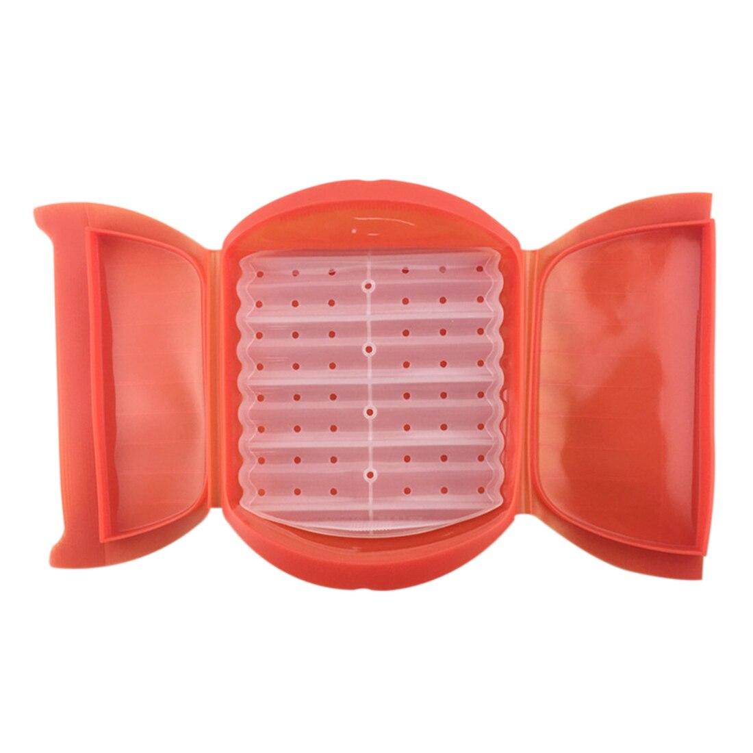Mikrowelle Silikon Lebensmittel Lagerung Container Mit Zwischenschicht Mittagessen Dampfenden Folding Kochen Schüssel Fischgericht Box 26*20*9 cm Heißer
