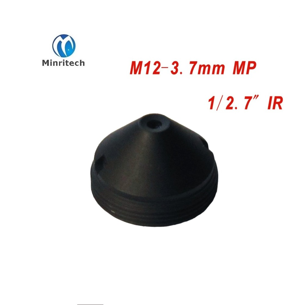 все цены на High quality Mini cctv Cone pinhole IR filter lens M12 3.7mm for cctv camera cam ip cctv lens/ Board Lens 5pcs/lot