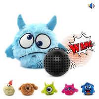 Accessoires de jouets pour chiens de compagnie Vibration vocale électrique boule de rire interactif jouet de grincement balle sautante meilleure vente nouveau 2019