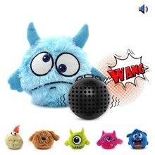 Pet собаки игрушки аксессуары электрический вокальный вибрации Giggle шарик интерактивный встряхнуть писк игрушка прыгает шарик Лучшие продажи новых 2019
