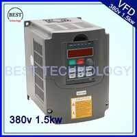 380 В 1.5kw VFD частотно-регулируемый привод VFD инвертор 3HP 380v Вход 3HP для шпиндель мотор контроля скорости