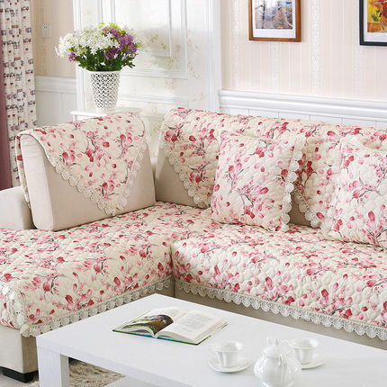 Pastoral style Embroidery sofa cover sofa covers slipcover home