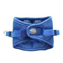 Soft Mesh Dog Harness Pet Walking Vest Puppy Padded Harnesses Adjustable Padded Vest цены онлайн