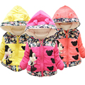New Girls Winter Cotton Minnie Coats&Outwear,Children winter Warm jackets,Coats Baby Girls Minnie cartoon Outwear