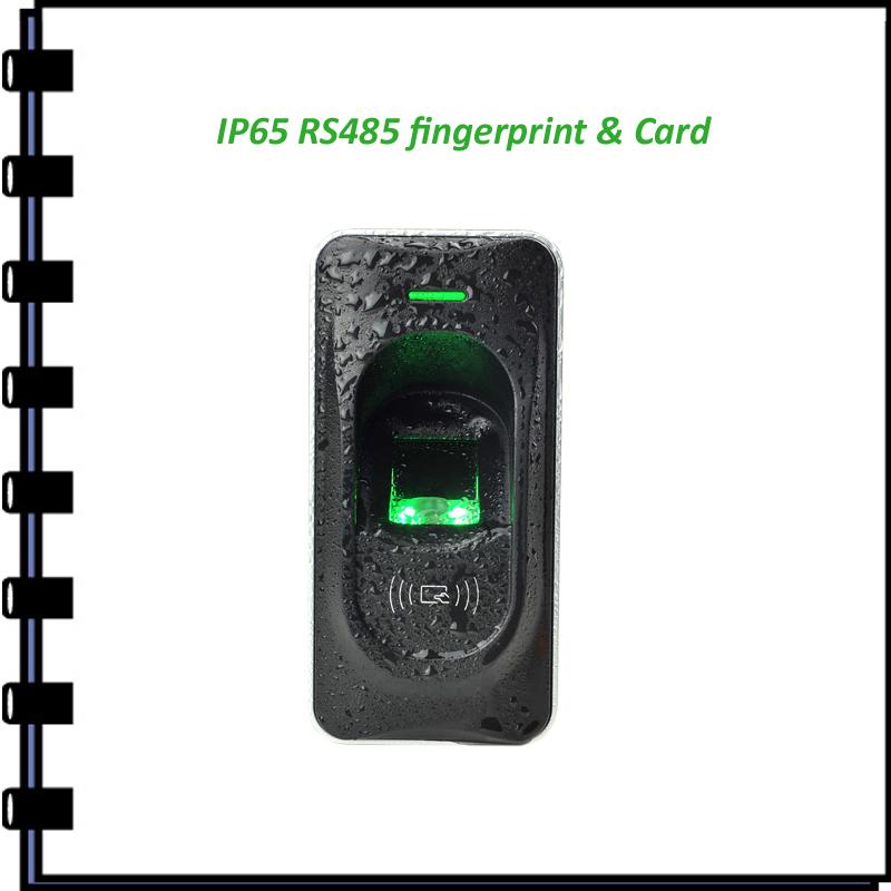 ФОТО RS485 IP65 outdoor fingerprint and rfid card reader for inbio access control Door Access Control Reader