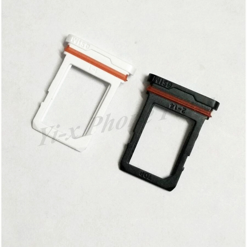 1PCS <font><b>Black</b></font>/<font><b>White</b></font> For Samsung S6 Active G890 SIM Card Tray Slot Holder <font><b>Pop</b></font> <font><b>Socket</b></font> image