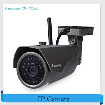 Camnoopy CN - 720K3 720P H.264 WiFi IP Camera ONVIF Motion Detection Outdoor Waterproof IR-Cut Infrared Wireless Security Camera web page