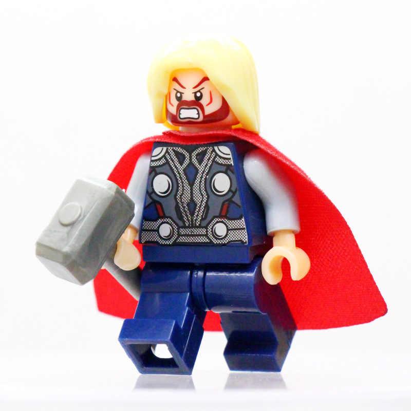 Figures Avengers Super Heroes Iron Man Model Building Kits Building Blocks Toys for Kids