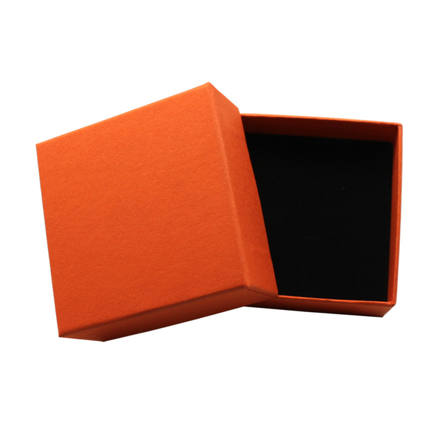 Orange Multifunctional Jewelry Box Necklace Earrings Bracelets