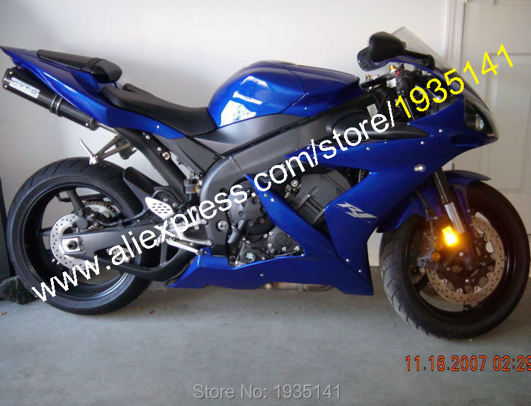 Hot Sales,For Yamaha YZF-R1 2004 2005 2006 Parts YZF1000 R1 YZFR1 Full Blue Aftermarket Motorcycle Fairing (Injection molding) motorcycle engine stator crank case generator cover crankcase for yamaha yzf r1 2004 2005 2006 2007 2008 yzfr1 yzf r1 04 08